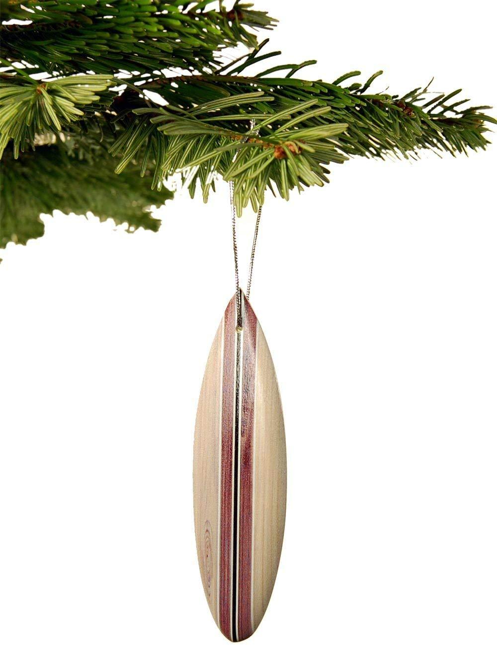 Seestern Sportswear Surfboard Weihnachtsbaum Christbaum Schmuck Weihnachtsdeko Surfing Xmas //1852 10 er Pack