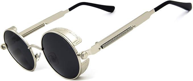 1x paio LENTI per Occhiali Steampunk Goggles colore VERDE