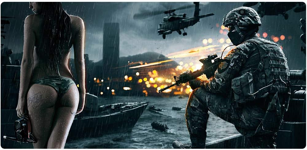 Non-Slip Waterproof Rubber Base AGW Gamming Mouse pad Mouse pad Desktop pad Size 1200x600mm Size can be Selected Multiple times-15-120x60x3 Smooth Surface Office Very Suitable for Games