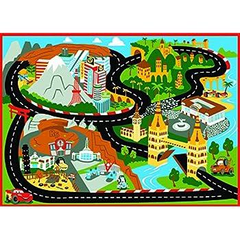 disney cars rug mt fuji edition toys w lightning mcqueen toy car kids cars2 bedding