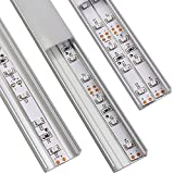 5 PACK of 1M/3.3ft U-Shape Aluminum Channel for