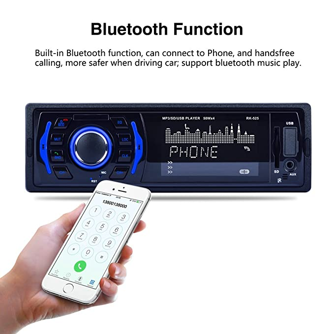 lslya Bluetooth Stereo Audio Receiver für Auto: Amazon.de: Elektronik