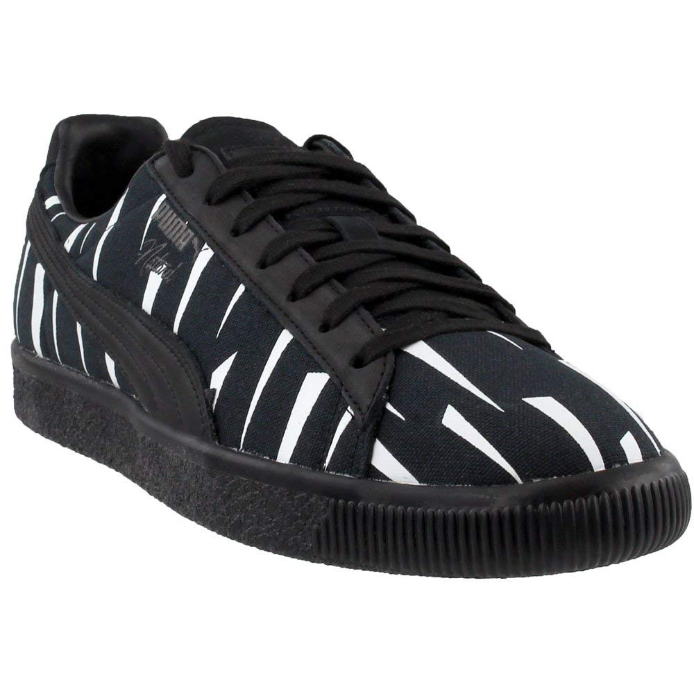 san francisco 05b04 45a91 PUMA Unisex Puma x Naturel Clyde Black Rain Sneaker Puma Black 11 Women /  9.5 Men M US