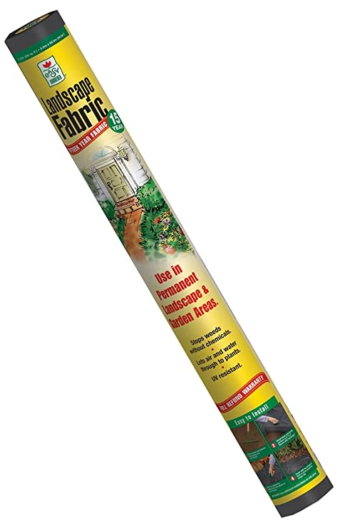 Easy Gardener 3 Foot By 100 Foot 5 Year Weedshield Landscape Fabric