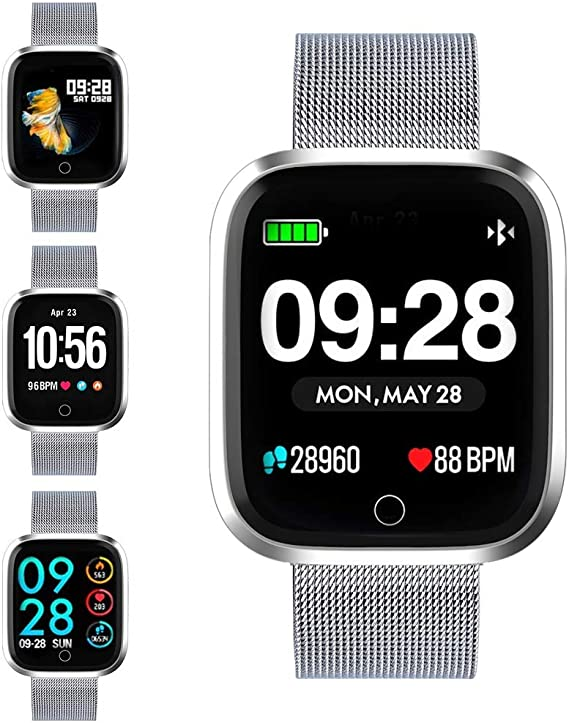 Smart watch, Q8 smart watch smart fitness watch HD smart watch screen fitness tracker with pedometer / heart rate / information notification / mobile ...