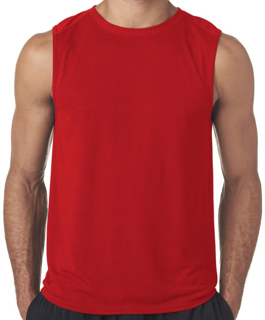 Yoga Clothing For You Mens Moisture-wicking Muscle Tank Top Shirt GILD-42700