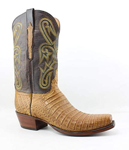 496fae2a Amazon.com | Lucchese New Mens L1456.74 Old Gold Cowboy, Western Boots Size  8.5 | Western