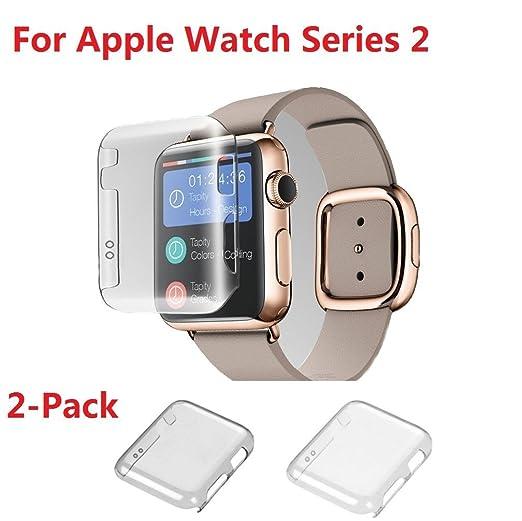32 opinioni per Apple Watch Series 2 Custodia, Nikay Custodia di Protezione Copertura Shell per