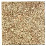 Achim Imports FTVGM32945 Tivoli Ancient Beige Mosaic 12x12 Self Adhesive Vinyl Floor Tiles/45 Sq Ft, Piece