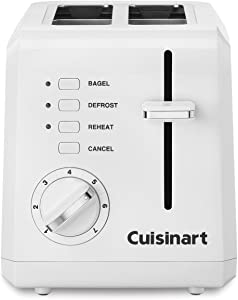 Cuisinart CPT-122 Compact 2-Slice Toaster White - Renewed