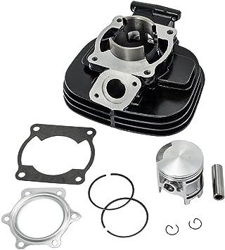 For Yamaha Blaster YFS200 Cylinder Piston Gasket Top End Kit 88-06 2XJ113110200