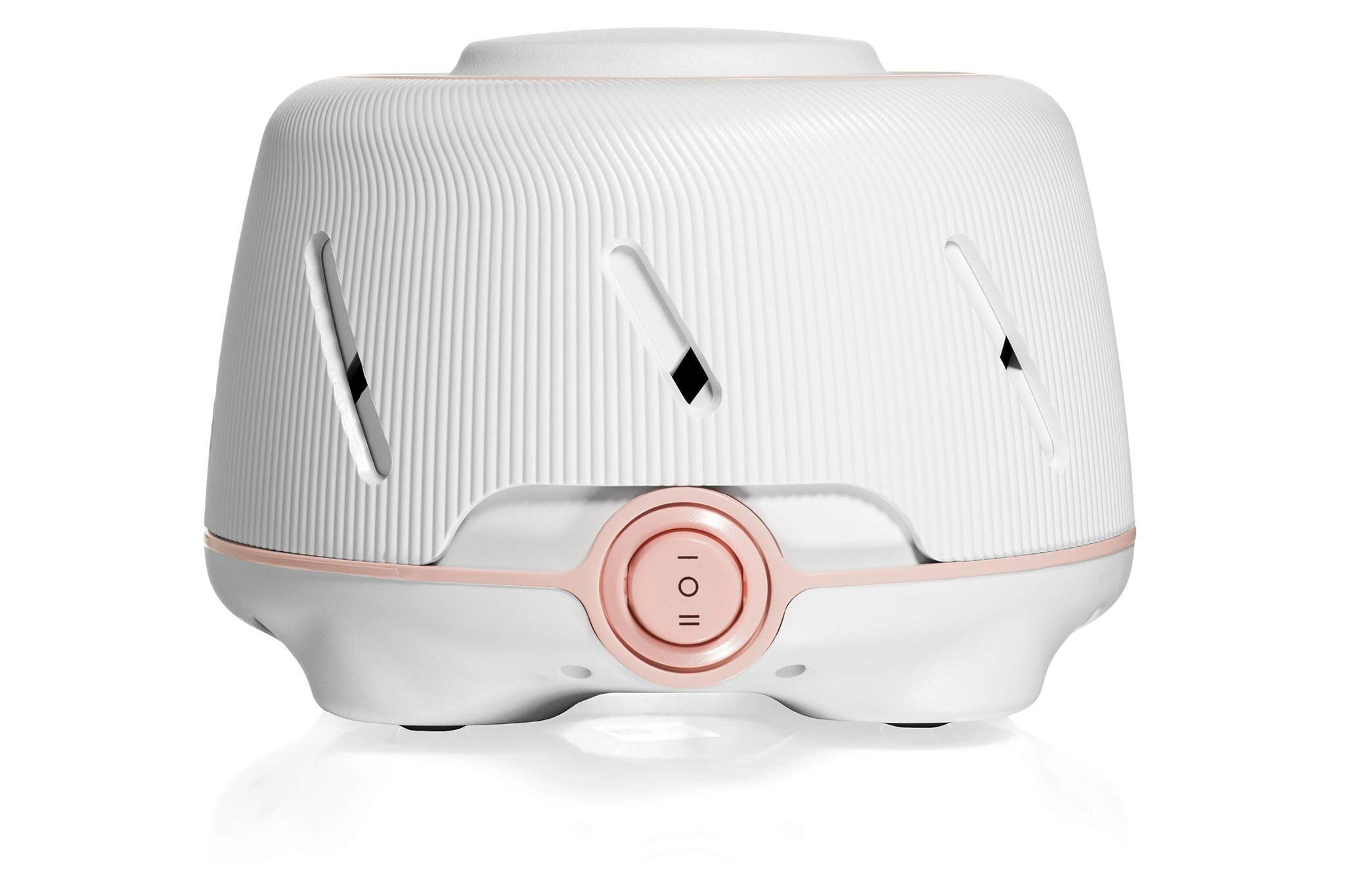 Marpac Dohm (White/Pink) | The Original White Noise Machine | Soothing Natural Sound from a Real Fan | Noise Cancelling | Sleep Therapy, Office Privacy, Travel | For Adults & Baby | 101 Night Trial by Marpac