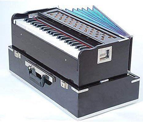Armonio plegable musical con acoplador de caoba/armónico ...