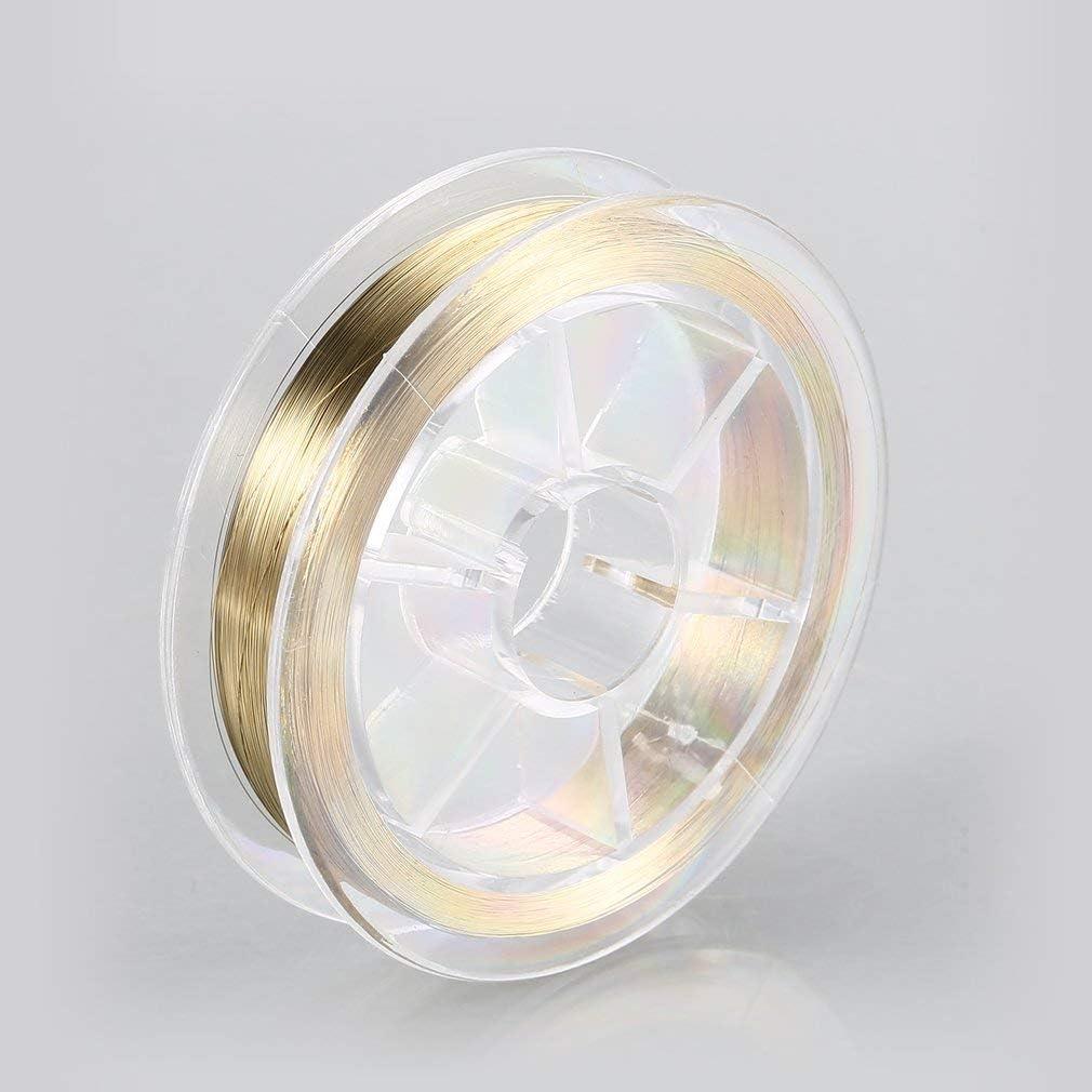 SEN 0.08MM 500M Pantalla LCD Separaci/ón Alambre L/ínea de Corte Separaci/ón Diamante Alambre Oro