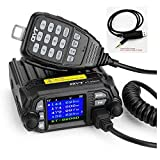 QYT KT-8900D 25W Dual Band Mini Mobile Transceiver Two-Way Radios136~174/400~480MHz Quad standby Amateur Car Radio