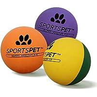 Sportspet High Bounce gumowe piłki dla psów