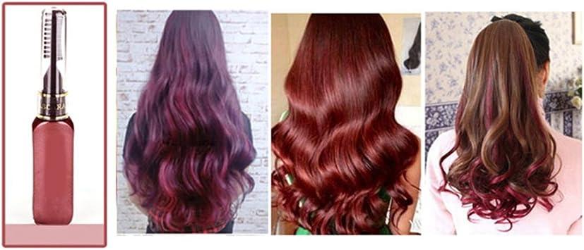 Gemini_mall® Tinte temporal de pelo en crema, no tóxico, 13 colores, de Malloom, para hacerlo tú mismo