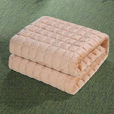 Znzbzt Ley de colchones de felpa gruesas almohadillas de protección antideslizante lavable colchoneta delgada con una esterilla de tatami y color ,150m x ...