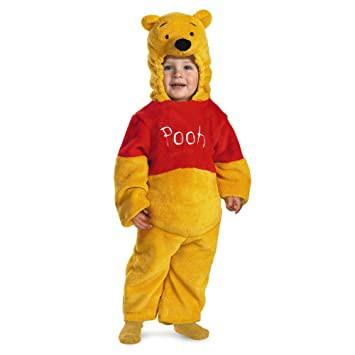 Deluxe Winnie The Pooh Toddler Costume - Toddler Small  sc 1 st  Amazon.com & Amazon.com: Deluxe Winnie The Pooh Toddler Costume - Toddler Small: Baby