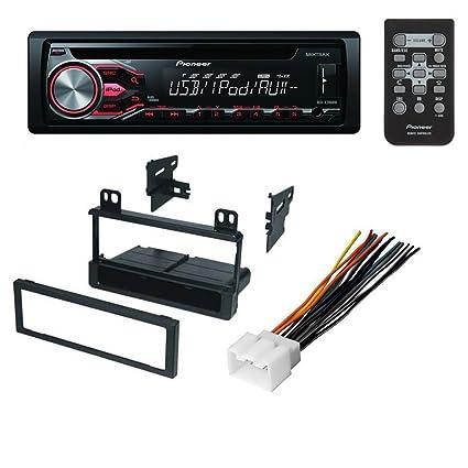 amazon com car cd stereo receiver dash install mounting kit wire rh amazon com