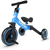 besrey Triciclos para Niños, 5 en 1 Un Bici polivalente, Triciclo,Bicicleta,Carro de Equilibrio,Caminante, 2.8kg Ligero…