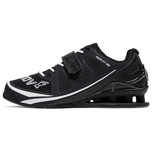 INOV-8 Fastlift 325 Hombre Zapatillas de Halterofilia Deportes Zapatillas de Entrenamiento Negro, Negro, 38: Amazon.es: Zapatos y complementos