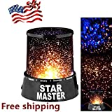 Night Romatic Gift Cosmos Star Sky Master Projector Starry Night Light Lamp WP