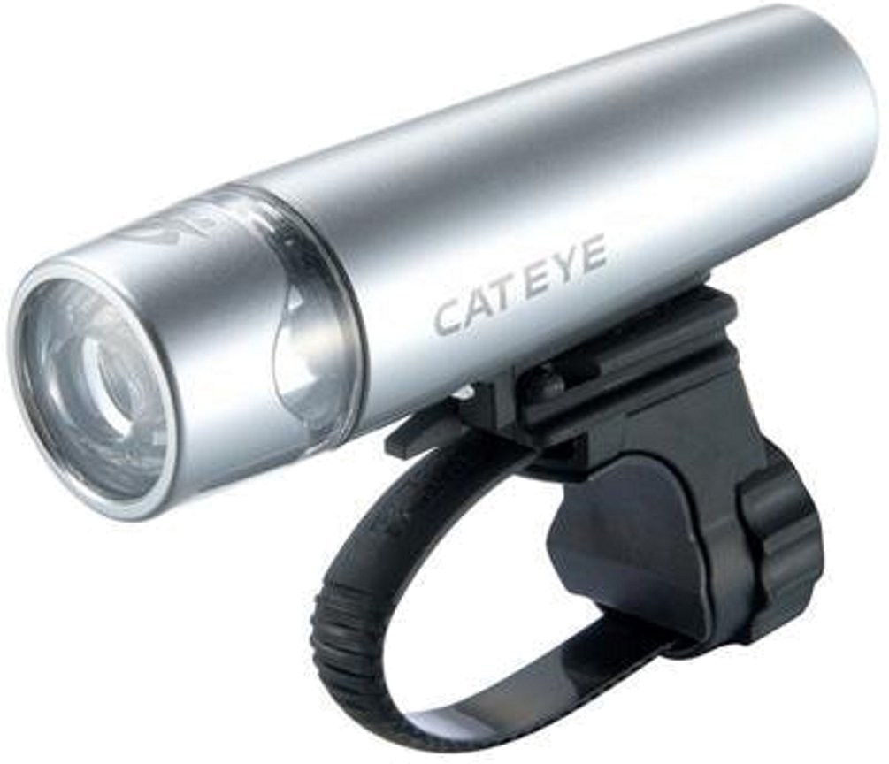 Cateye HL-EL010 Uno LED Bicycle Light (Silver)