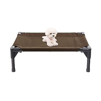 Veehoo Cama Elevada para Perro Pequeño, Cama Perro Impermeable, Cómodo Cama para Mascotas,