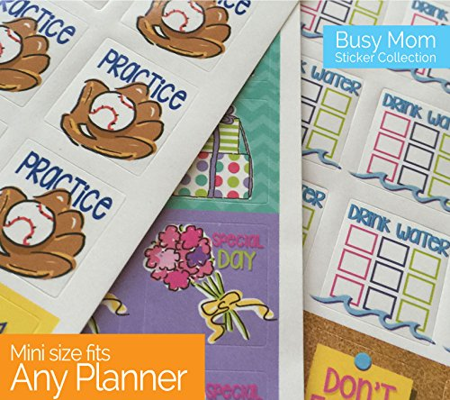 Calendar Reminder Design : Planner stickers busy mom collection for calendars