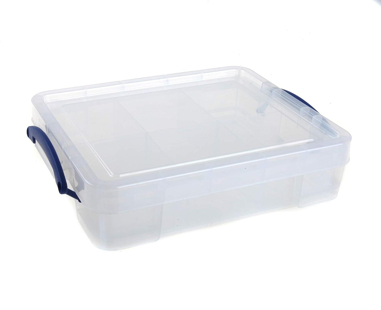 Really Really Really Useful Box 11 Liter mit Tablett f21419