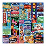 img - for Vintage Motel Signs 500 Piece Puzzle book / textbook / text book