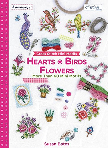 DMC Hearts, Birds & Flowers Mini Motifs Cross Stitch Pattern