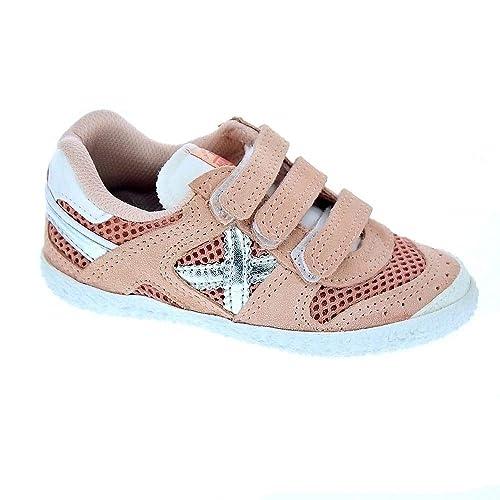 Munich Mini Goal 1429 - Zapatillas Niña: Amazon.es: Zapatos y complementos
