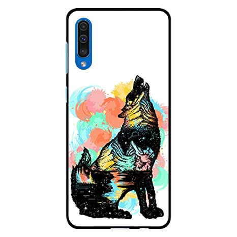 coque telephone samsung a50 loup