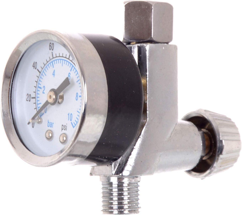 Auarita Professional Precision Pressure Regulator Manom/ètre Air Manom/ètre 1//4