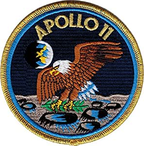 "Amazon.com: NASA's Apollo 11 Program 4"" Embroidered Patch"