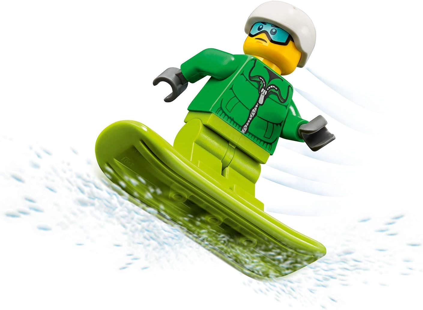 LEGO City Minifigure - Snowboarder (with Goggles and Snowboard) 60179