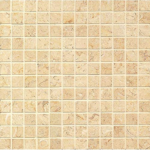 12 x 12 Deluxe Royal Oyster Satin 1 x 1 Mosaic ()