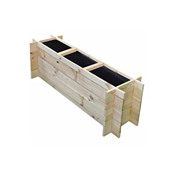 Hochbeet Pomelo M Geot Unbeh Kartonverpackt Amazon De Baumarkt