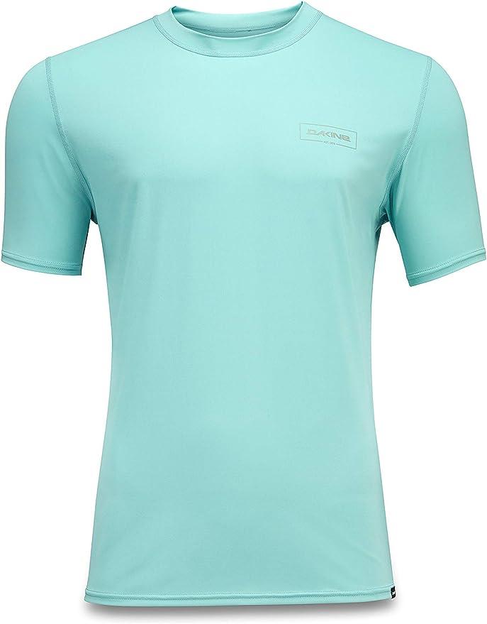 DAKINE Camisa de Surf de Manga Corta Suelta Heavy Duty - Azul Nilo - Camisa de Surf Holgada de poliéster Reciclado de 6.5 oz: Amazon.es: Deportes y aire libre