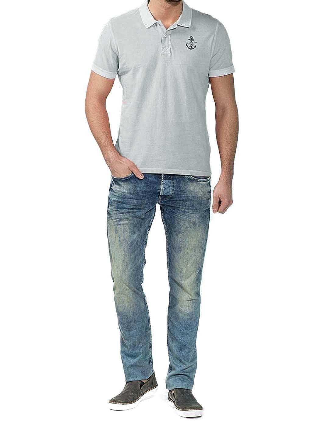 Pepe Jeans Polo Hombre Jesse Azul Palo S: Amazon.es: Ropa y accesorios