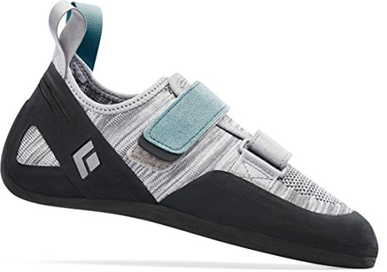 Black Diamond Momentum- Women's Climbing Shoes Aluminum 10 & Towel Bundle