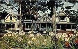 Gingerbread Cottages Oak Bluffs Martha's Vineyard, Massachusetts Original Vintage Postcard
