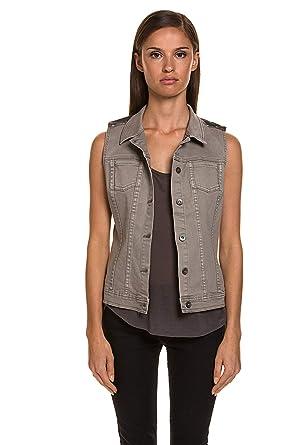 Liebeskind Berlin Damen Sweat Lässige Jeansweste Baumwolle  Amazon.de   Bekleidung 5f75f65534
