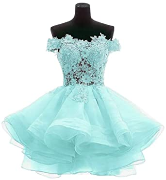 Snowskite Womens Lovely Short Cute Princess Homecoming Prom Dress at ...