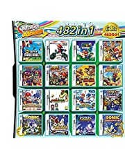 $24 » 482 in 1 Game NDS Game Pack Card DS Games Super Combo with NDS DS 2DS New 3DS NDSI XL