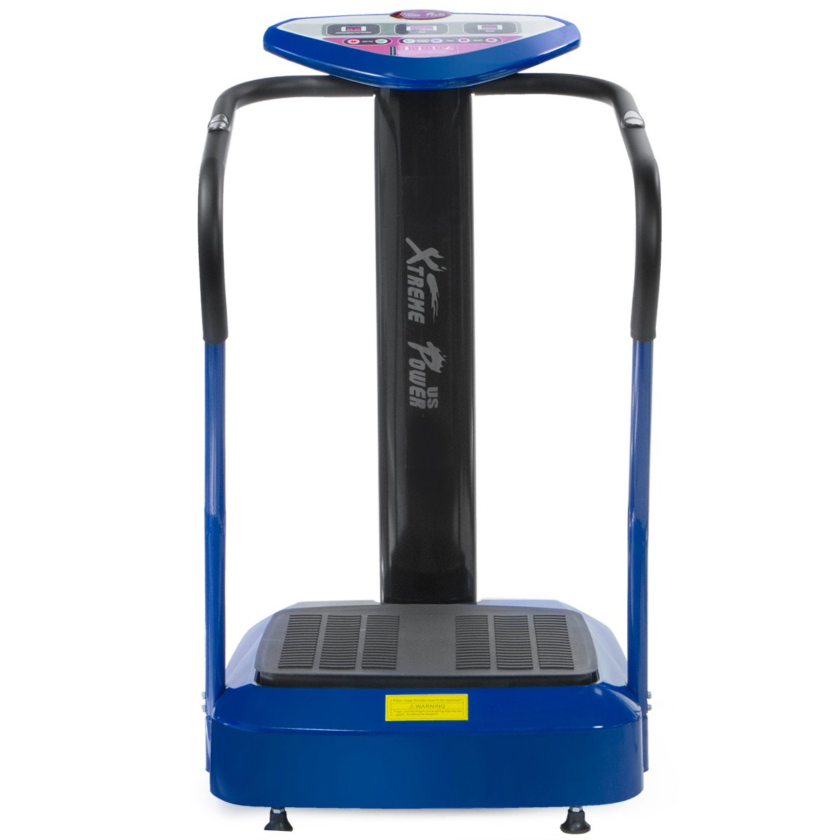XtremepowerUS 2000W Slim Full Body Vibration Platform Exercise Crazy Fit Machine (Blue) by XtremepowerUS (Image #1)
