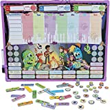 Monsters Reward & Responsibility Chore Chart | Multiple Children | Magnetic Dry Erase Board | Improved Behavior | Star Incentive by Kid Rockett (Monsters | Multiple)