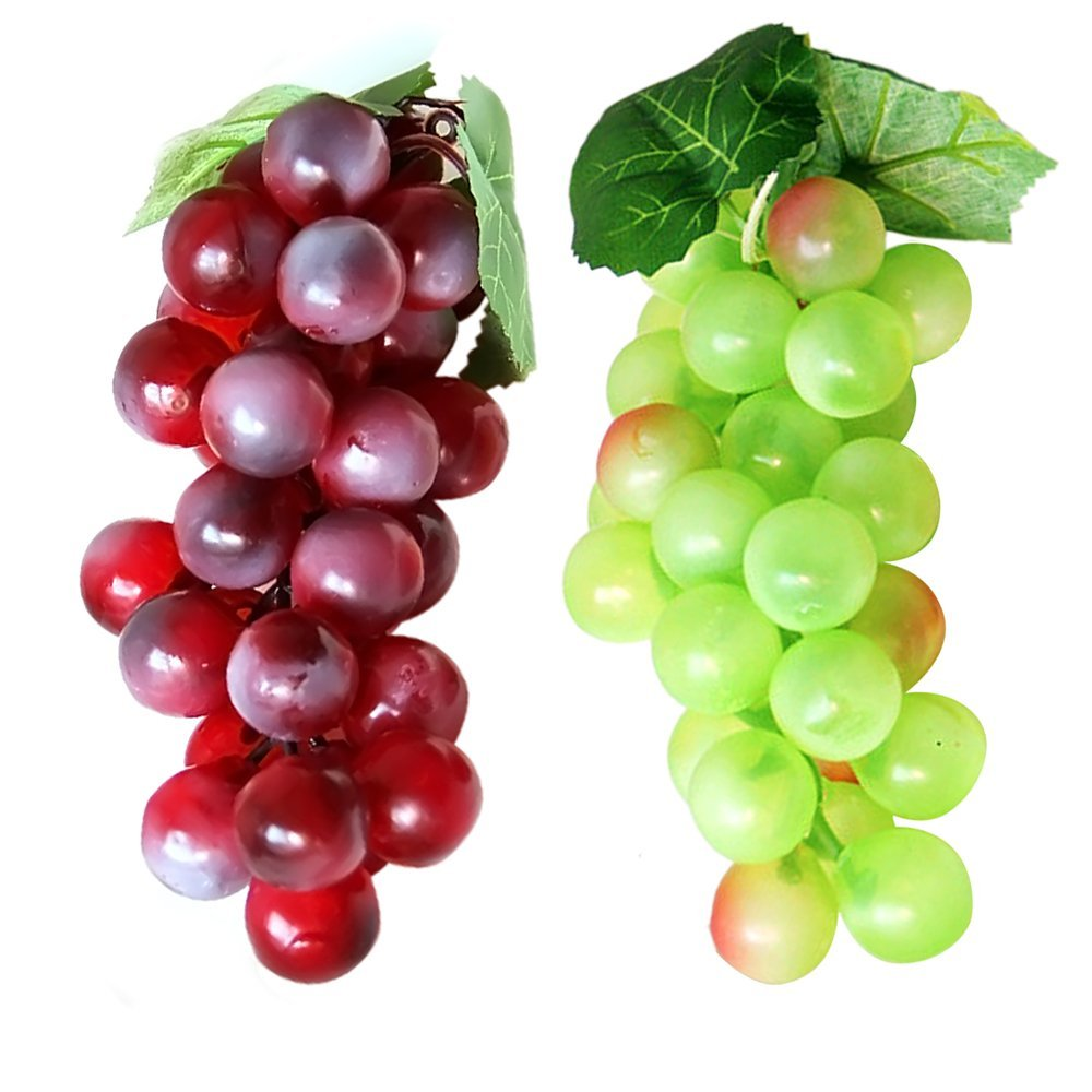 2 PCS Foam Artificial Lifelike Simulation Solid Mangoesteen Model Fake Fruit for Home Decoration Gosear